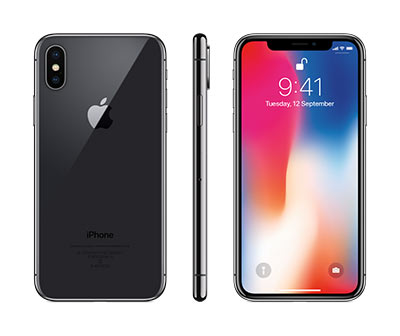iPhone X, Space Grey